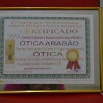 Eleita primeira Ótica de Sergipe 2016